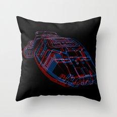 Classic Galactica 3D Throw Pillow
