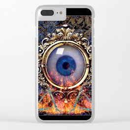 The All Seeing Eye Clear iPhone Case