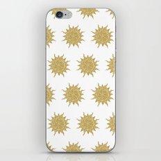 Mosaic Sun iPhone & iPod Skin