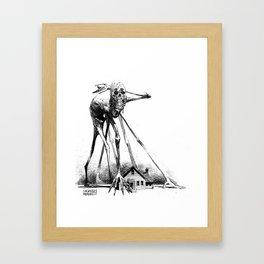 Creaky Bob Framed Art Print