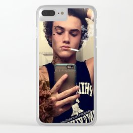 Tattoos and cigars Clear iPhone Case