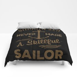 Smooth Sailing Dark Comforters