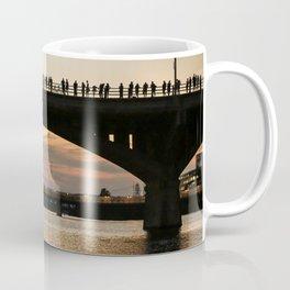 People at sunset Coffee Mug