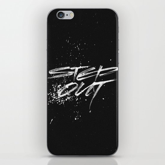 Step out iPhone & iPod Skin