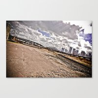 houston Canvas Prints featuring Houston by Amy Harbin