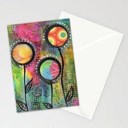 """Bloom""   Original painting by Mimi Bondi Stationery Cards"