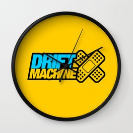Drift Machine v1 HQvector Wall Clock