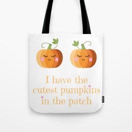 Cute Pumpkins Halloween Tote Bag