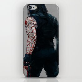 gimme shelter iPhone Skin