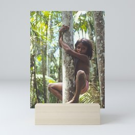 Climbing Trees Mini Art Print