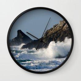 Atlantic splash Wall Clock