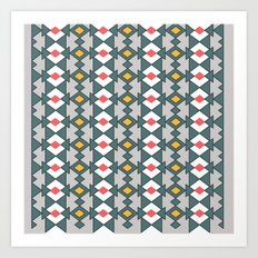 pattern series 043 Art Print