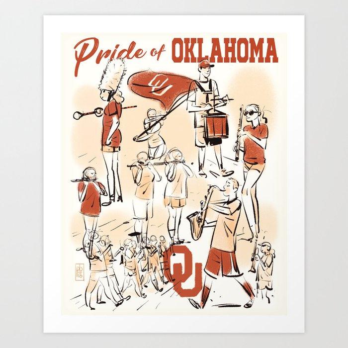 Pride of Oklahoma Kunstdrucke