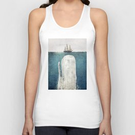 The White Whale Unisex Tank Top
