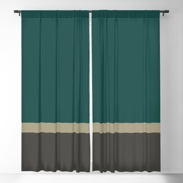 Bold Forest And Grey Blackout Curtain