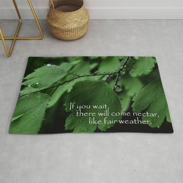 Nature's Patience Rug