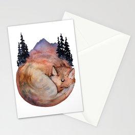 Fox Medicine Stationery Cards