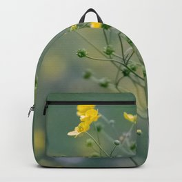 yellow buttercups Backpack