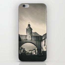 Antique buildings in Antigua, Guatemala iPhone Skin