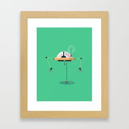:::Mini Robot-Monopus::: Framed Art Print