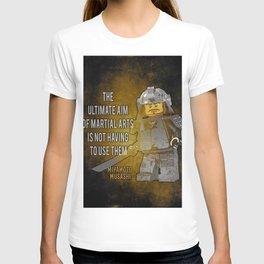 Samurai Musashi, ultimate aim martial arts T-shirt