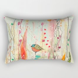 this strange feeling of liberty Rectangular Pillow