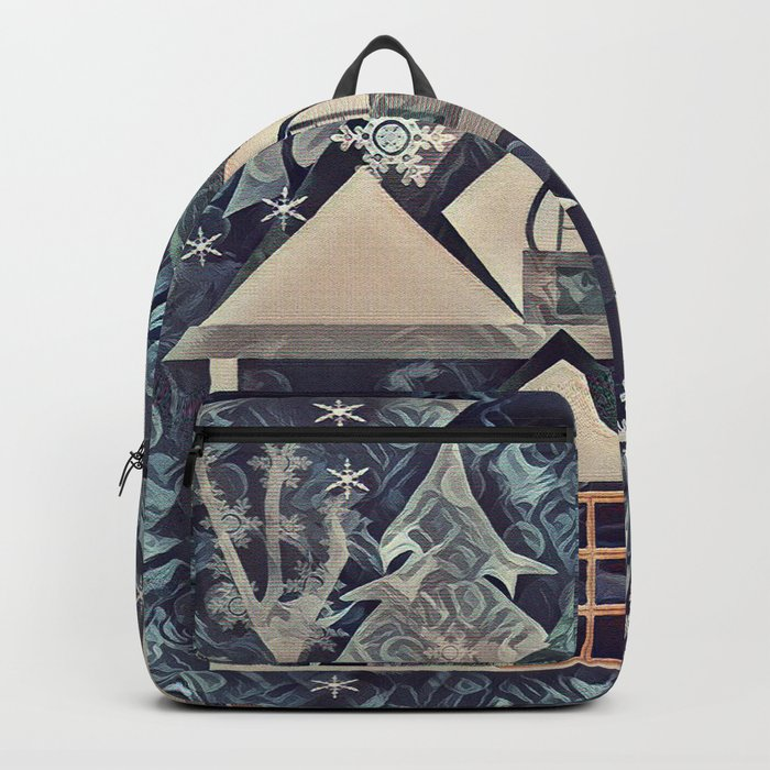 Christmas , Countryside Backpack