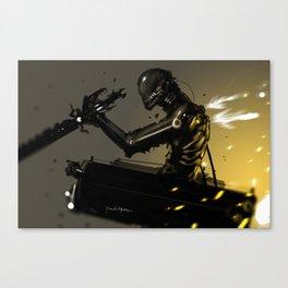 Attack on Titan Fan Art LEGION BLACK SQUAD Canvas Print