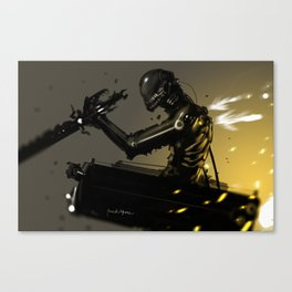 Attack on Titan Fan Art LEGION BLACK SQUAD Canvas Print
