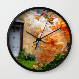 Blockley Village Cottage Cotswolds Gloucestershire Wall Clock