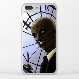 the Gentleman Clear iPhone Case