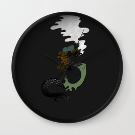 Scorching Scales Wall Clock