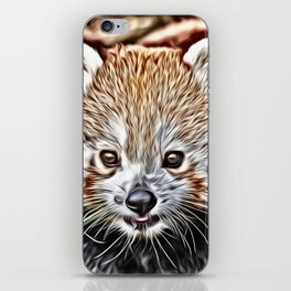 Impressive Animal - red Panda iPhone Skin
