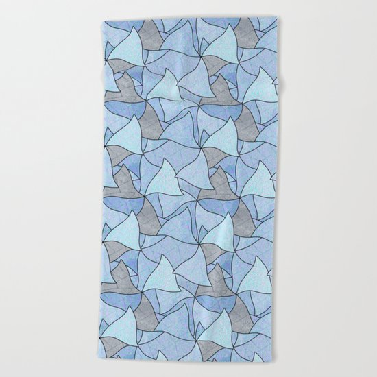 Abstract pattern . 2 Beach Towel