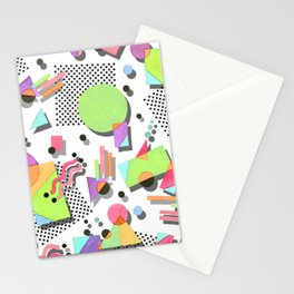 Rad 80s Memphis Stationery Cards