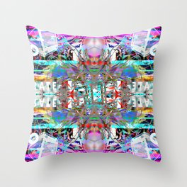RATE RAVE Throw Pillow