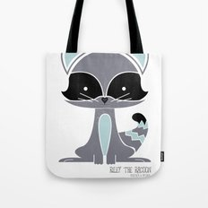 Riley the Racoon Tote Bag