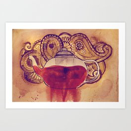 Hannibal's Tea Art Print