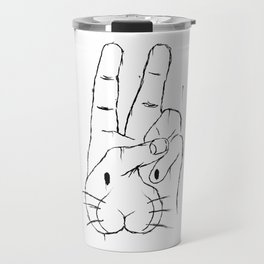 some bunny that i used to know Travel Mug