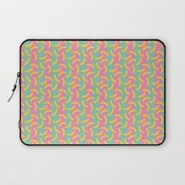 Glamorous Bananas (Pink & Green) Laptop Sleeve