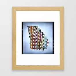 State of Mind - Georgia Framed Art Print