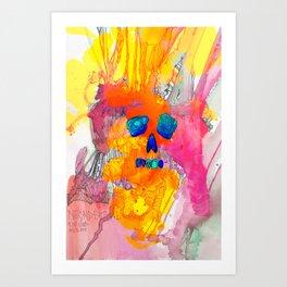 Neonderthal Ink Art Print