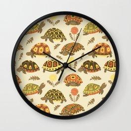 Tubby Torts Wall Clock