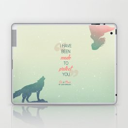 Six of Crows - I have been made to protect you Laptop & iPad Skin