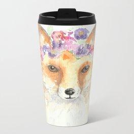 Miss Foxie Metal Travel Mug