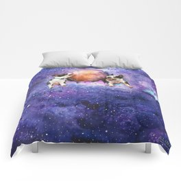 Hey Pluto Wanna Play? Comforters