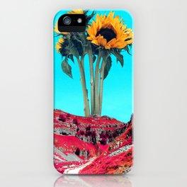 Giant Helianthus iPhone Case