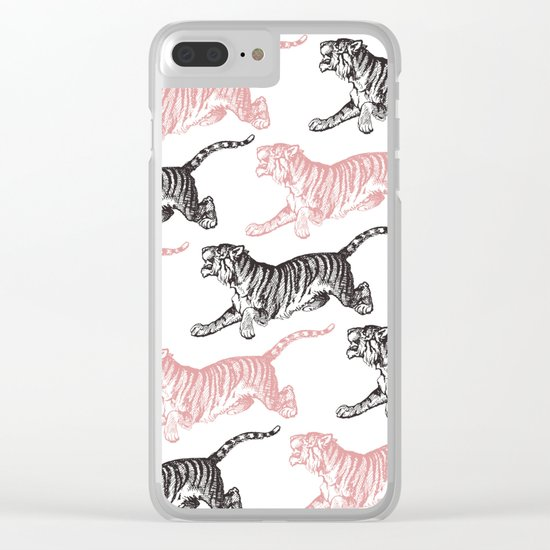 Tiger 3 Clear iPhone Case