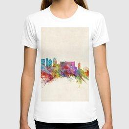 Cape Town South Africa Skyline T-shirt