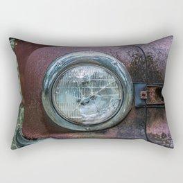 Low Beams Rectangular Pillow